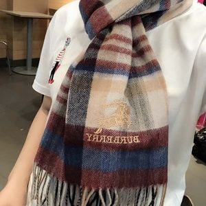 men's and women's couple cashmere scarves